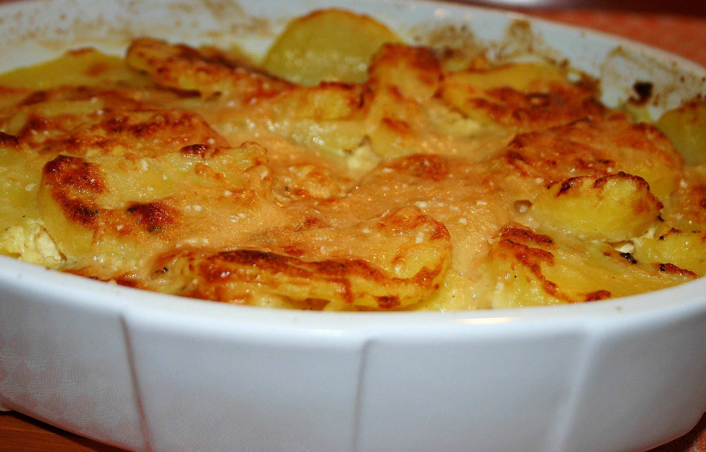 Cheese and Potato Pie | Words and Herbs