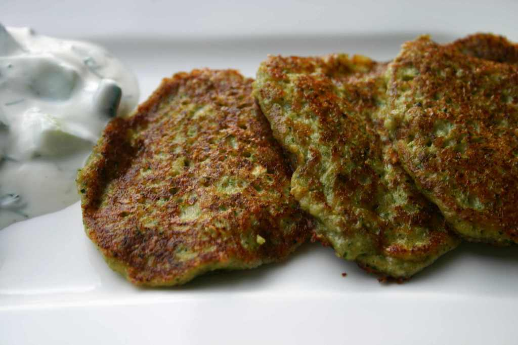 Zucchini Pancakes | Words and Herbs