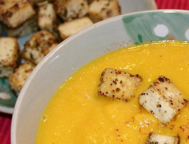 Carrot soup3