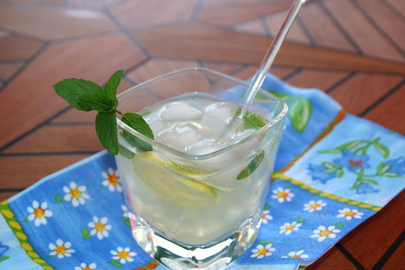 Lemon and Mint Refresher