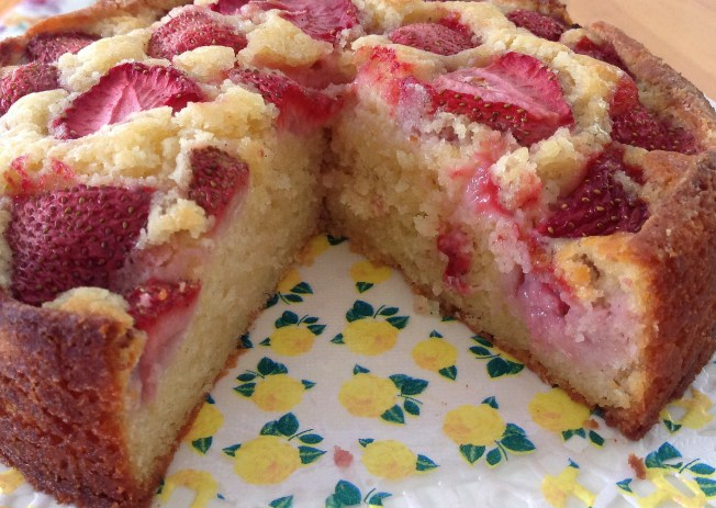 StrawberryLemon Cake2