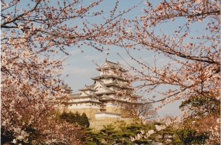 Himeji Castle, Japan 1993
