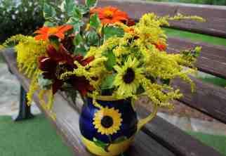 Sunflower Vase