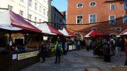 A smaller handicrafts market